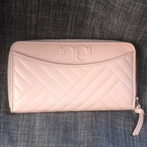 Tory Burch Alexa Rose Quartz wallet